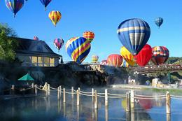 Balloons Over Hot Springs